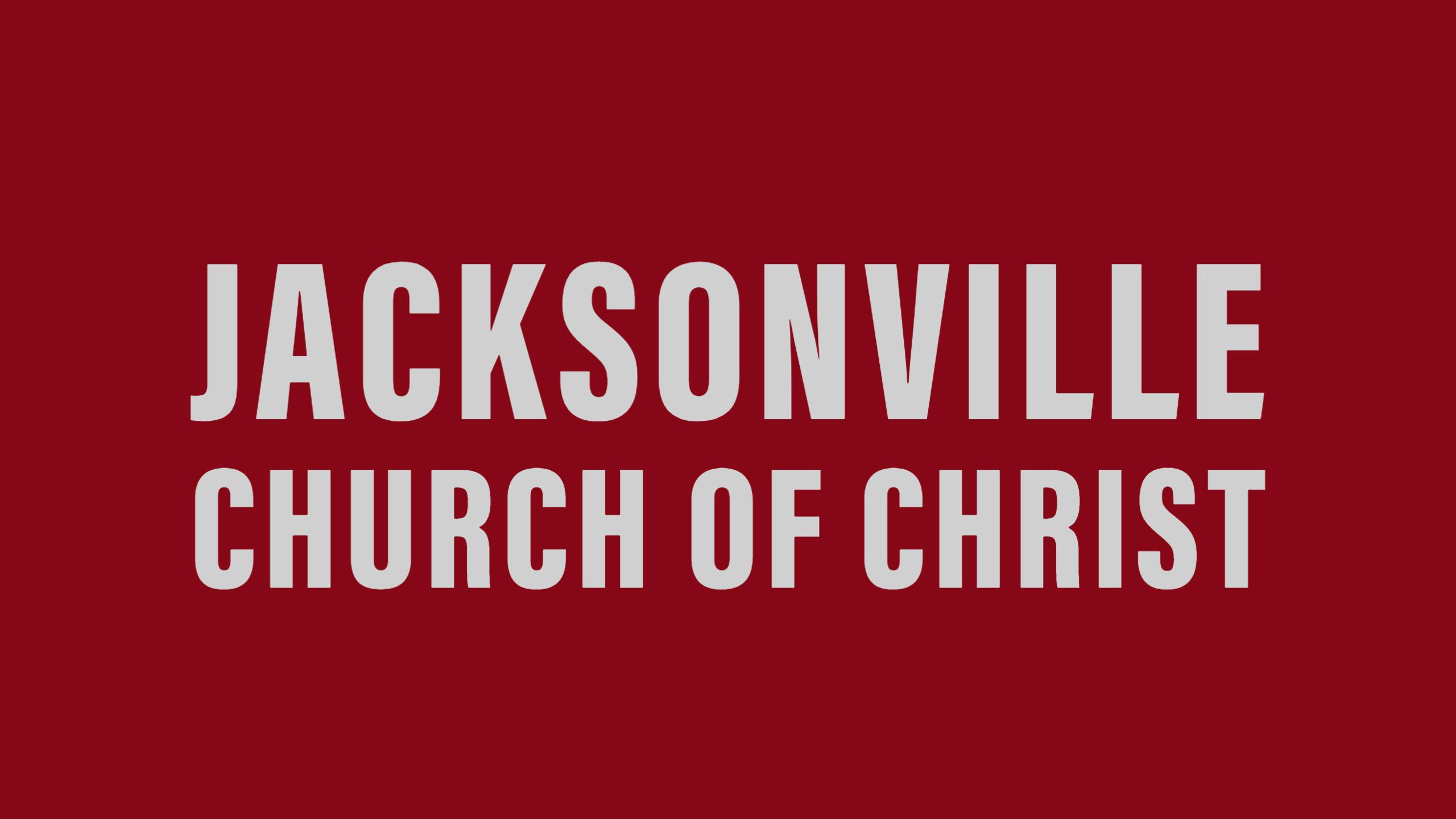 Jacksonville Church of Christ Logo