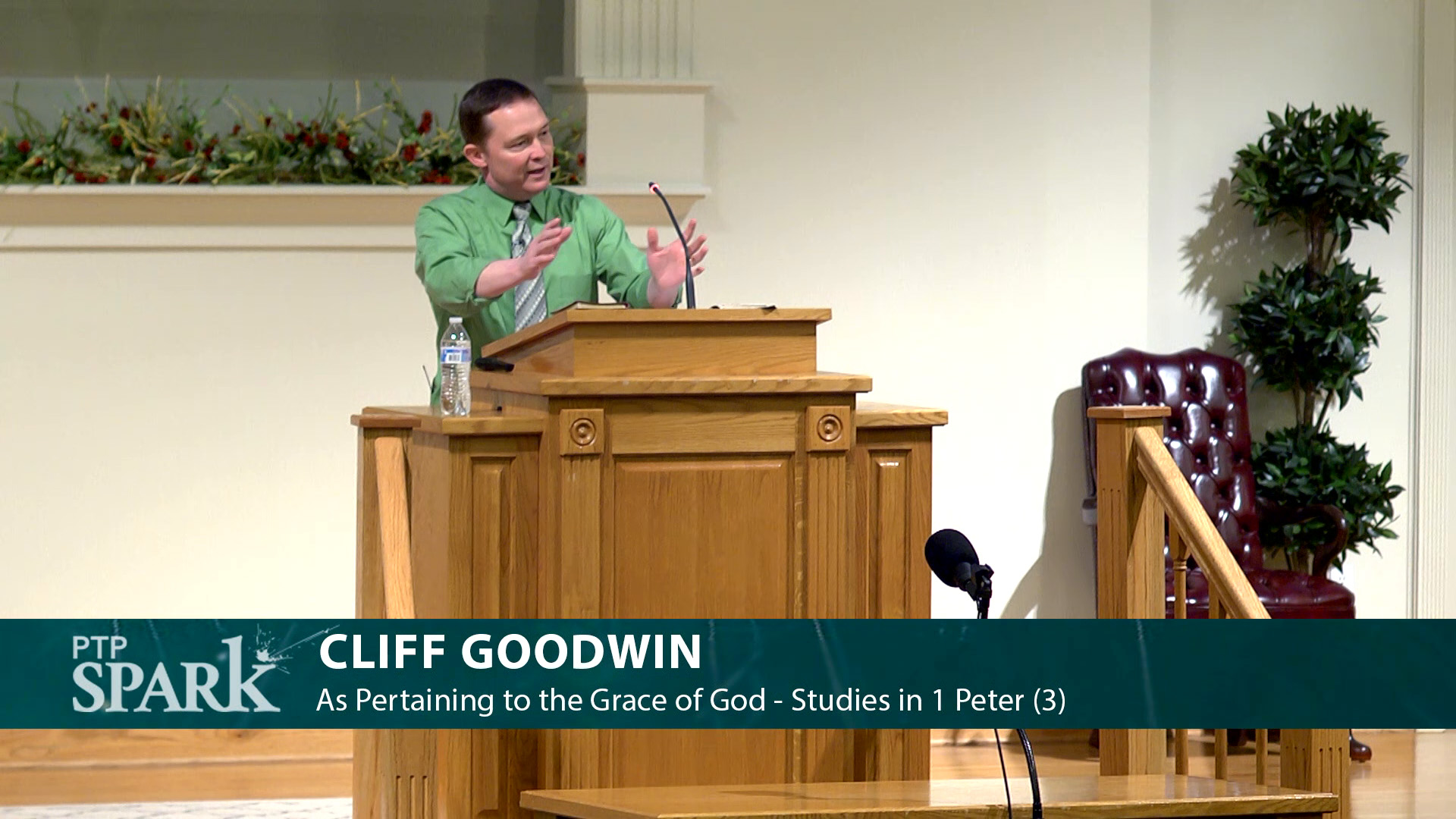 """Featured image for """"Cliff Goodwin – As Pertaining to the Grace of God – Studies in 1 Peter (3)"""""""