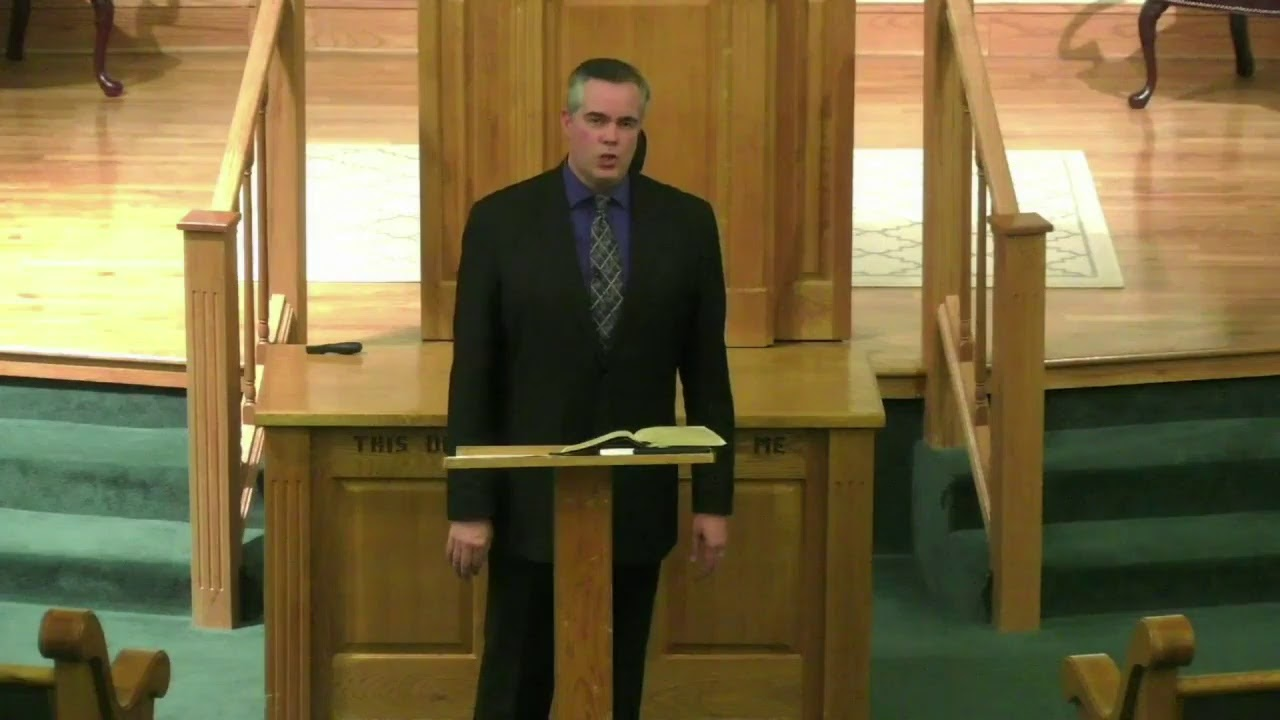 """Featured image for """"Jacksonville – Live Bible Class Stream – Rob Whitacre"""""""